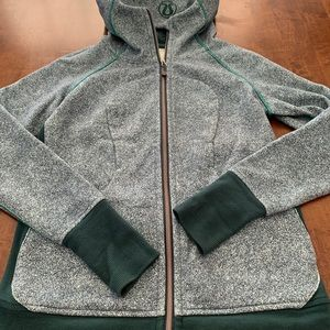 Lululemon green scuba hoodie
